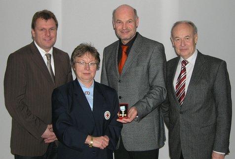 Ehrung Theresia Priesnitz - 40 Jahre BRK