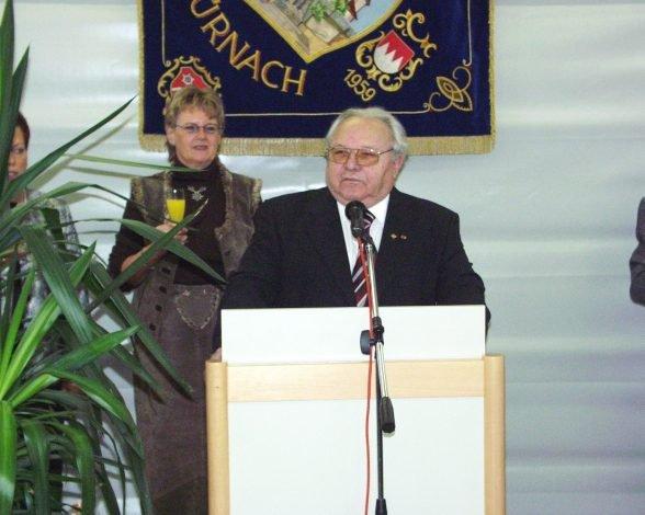 Altbürgermeister Otto Habermann wurde 80