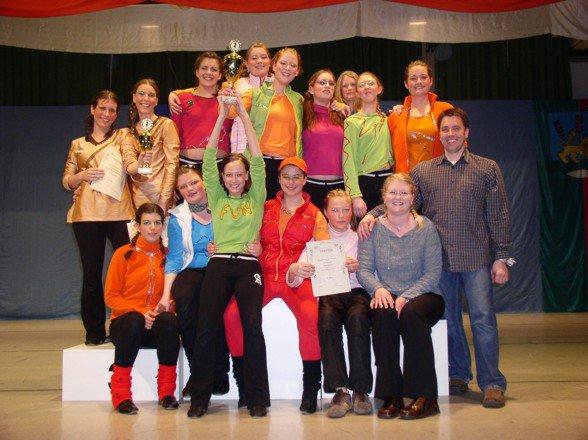 Schautanzgruppe ertanzt Titel bei der Bayerischen Meisterschaft