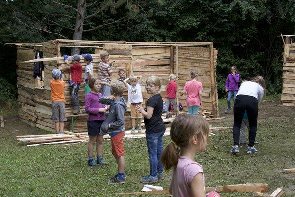 2016 Hüttendorf - Kindergruppe 1