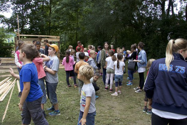 2016 Hüttendorf - Kindergruppe 2
