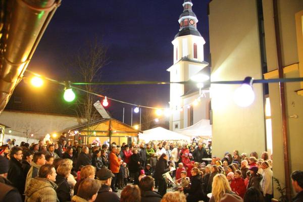 Weihnachtsmarkt der Gemeinde Kürnach
