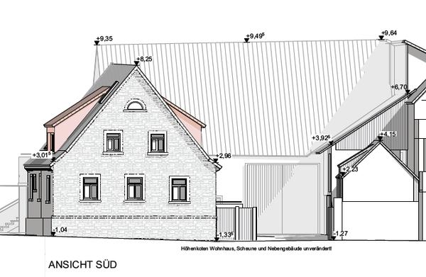 Pleichfelder Str 18 - Skizze