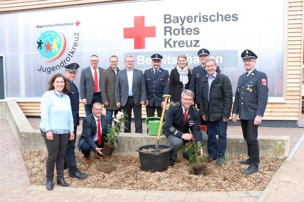 Bgm.-Blaulichtzentrum in Kürnach -Bild 2