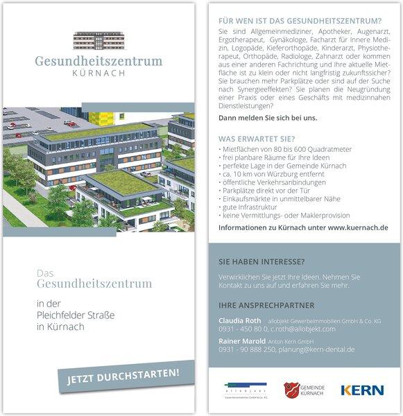 Flyer - Gesundheitszentrum Kürnach